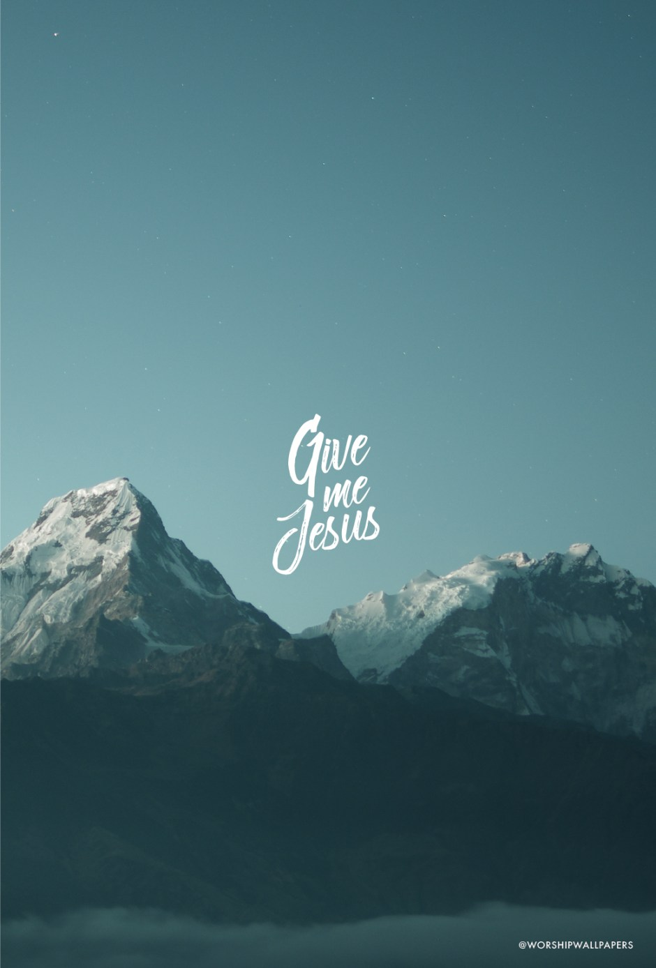 Give Me Jesus // Bethel Music | WORSHIP WALLPAPERS