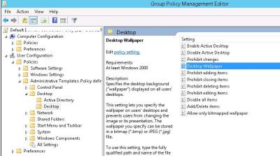 Setting Desktop Wallpapers Background Using Group Policy | Windows OS Hub