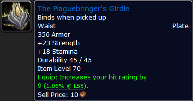 The Plaguebringer's Girdle
