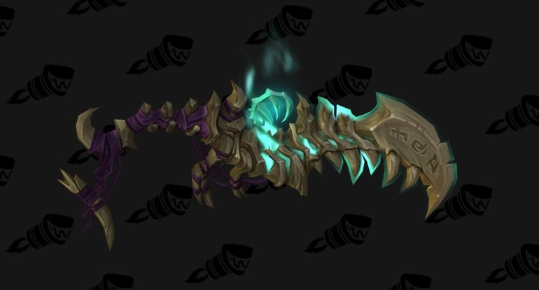wow legion assassination rogue hidden artifact weapon appearance