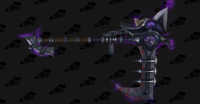 wow legion affliction warlock hidden artifact weapon appearance