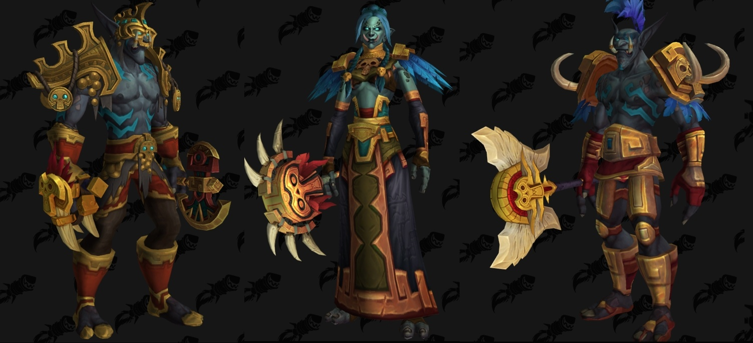 Battle for Azeroth Weapon Models   Wowhead News Battle for Azeroth Weapon Models