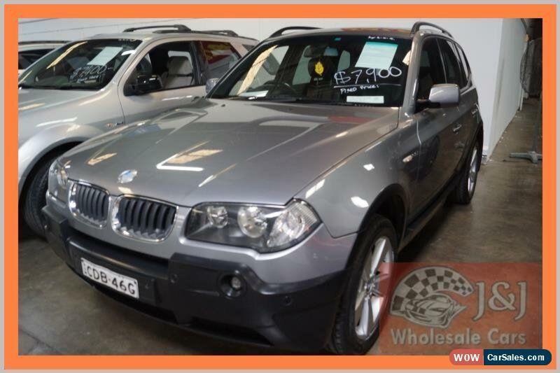 Classic 2004 BMW X3 E83 3.0I Grey Automatic 5sp A Wagon For Sale