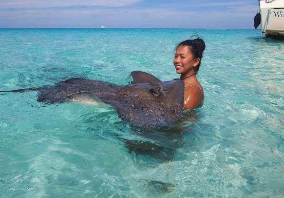 Stingray City, Cayman Islands - by Acquarius Sea Tours:Flickr