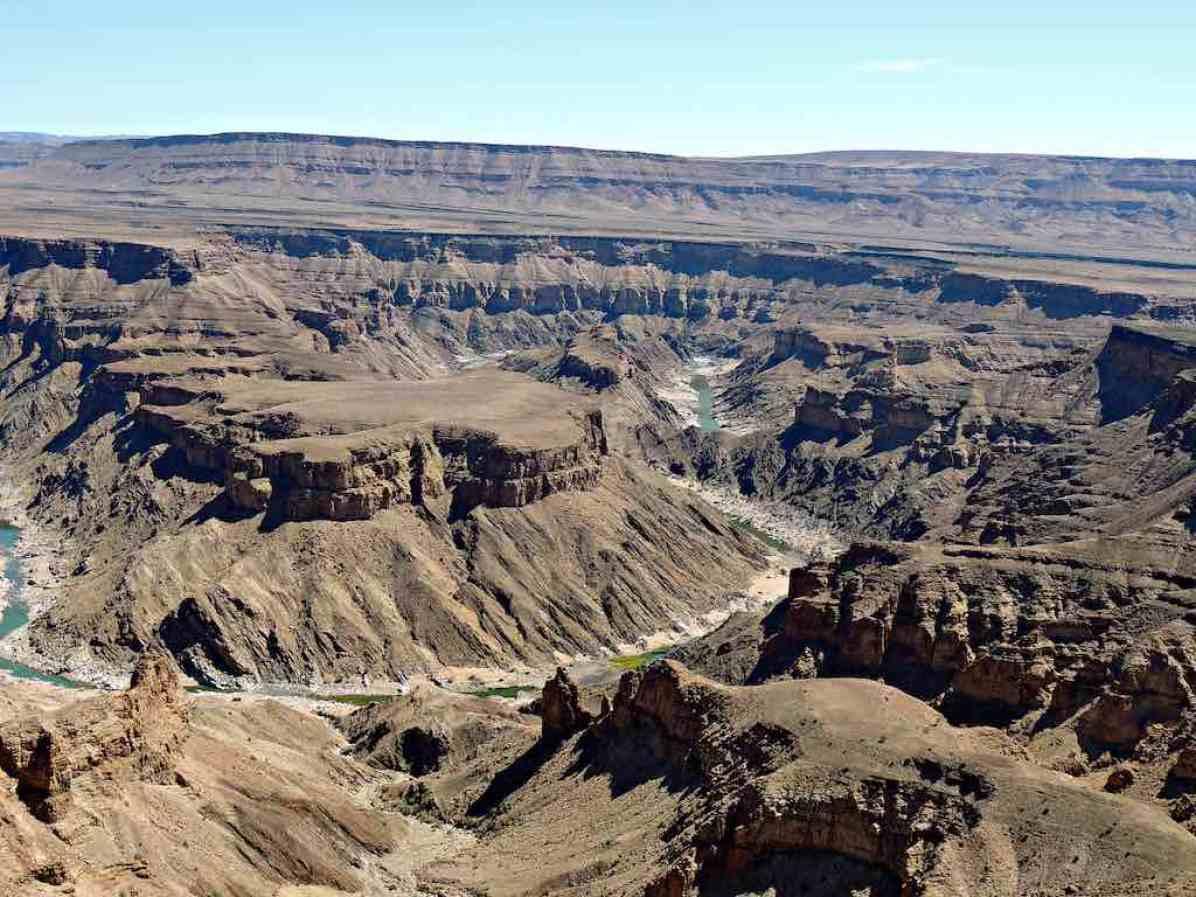 Fish River Canyon, Namibia - by Harry and Rowena Kennedy - harryandrowenaphotos:Flickr