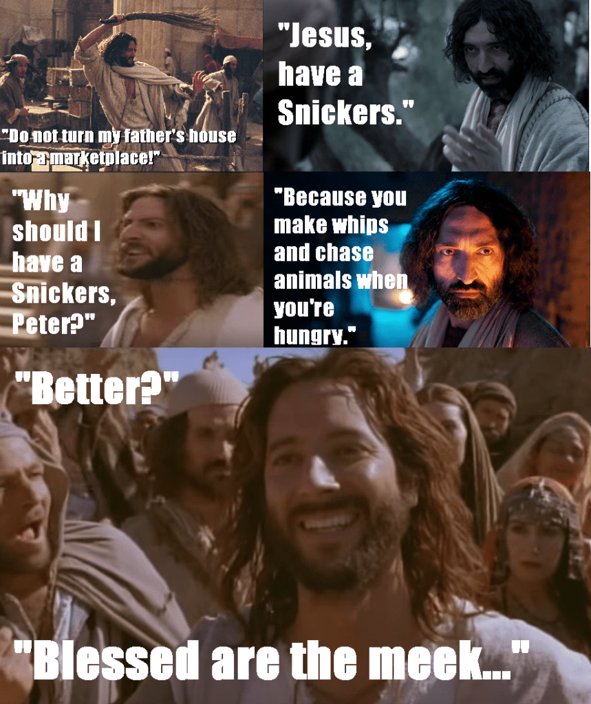 Showy Jesus Have A Snickers Have A Jesus James Mcgrath Have A Snickers You Re Not You When You Re Hungry Have A Snickers Reddit nice food Have A Snickers