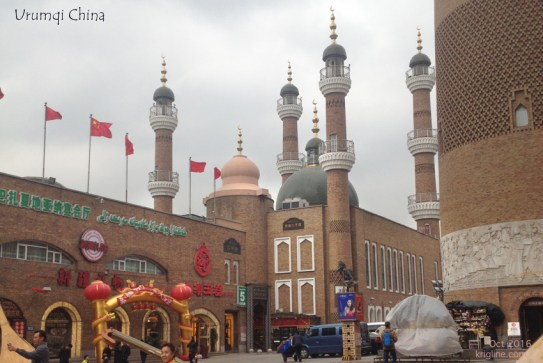 """Our first stop was the Bazaar in Urumqi. We did our part to support the local economy by buying a few gifts! We were amazed at how much these """"pretty things"""" looked like the souvenirs we saw in Turkey a few years ago."""