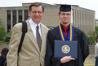 We're very proud of you, son!