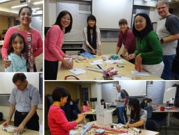 CCHK loves to spread Christmas cheer with the children whose parents work with our organization in China. It's a lot of fun to help them prepare gift boxes for mailing!