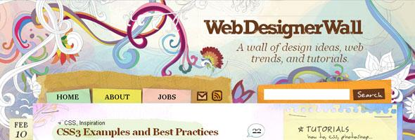 A-wall-of-design-ideas-web-trends-and-tutorials