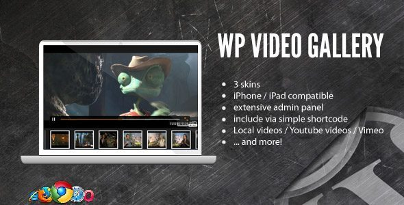 WordPress youtube video gallery