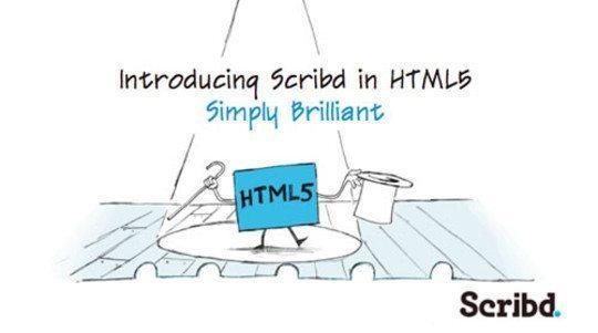 freeebooks-Scribd-HTML5
