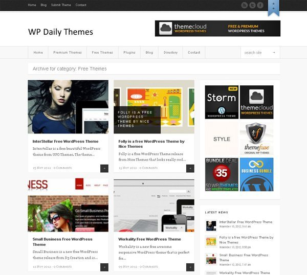 WordPress Daily Themes