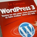 "Photographie - Couverture ""WordPress 3"""