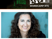 Reminder: Come see me (and lots of other great speakers) at WordCamp NYC