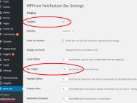 Plugin Review: WPFront Notification Bar