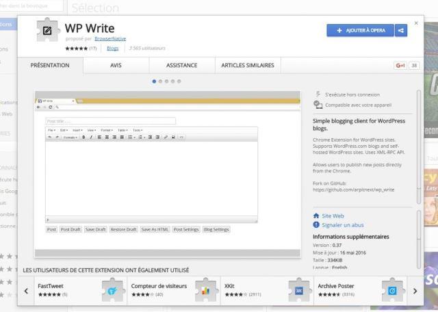 wp write