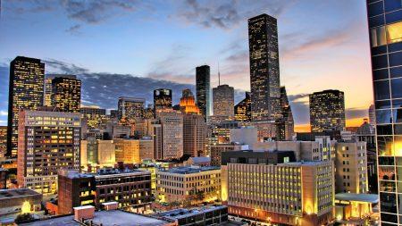 Downtown Houston via Wikipedia