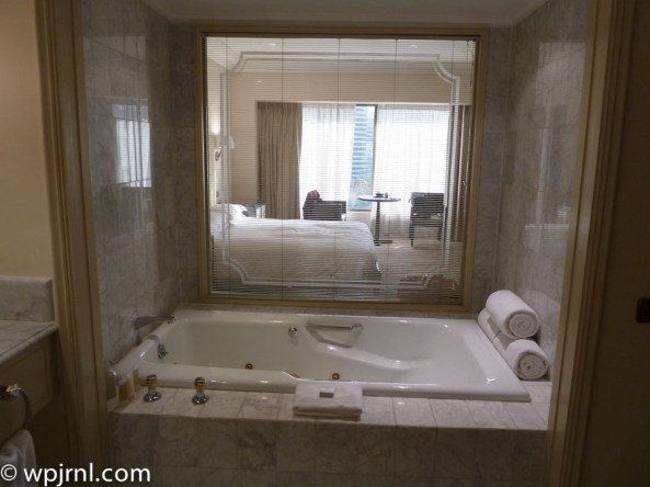 Grand Hyatt Santiago Executive Suite Terrace Jacuzzi
