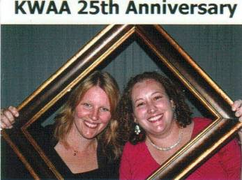 Kansas City Bankruptcy Attorneys Malissa Walden and Cassie Pfannenstiel Rodriguez at Kansas Women Attorneys 25th Silver Anniversary Gala