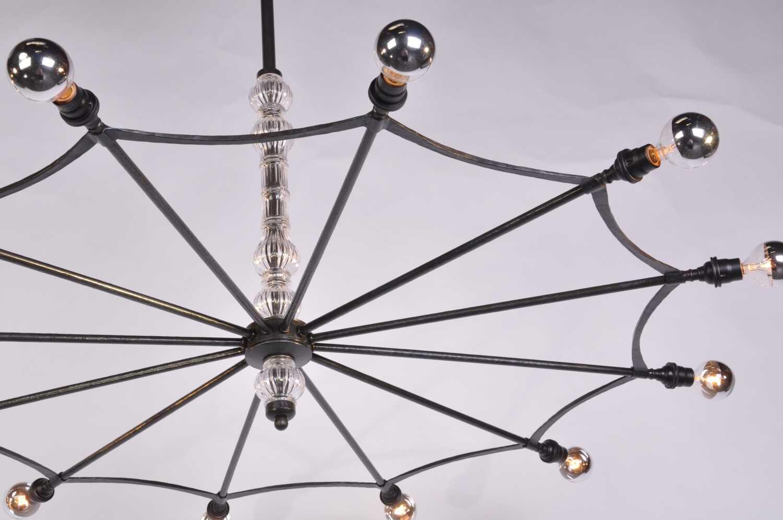 Web Light - Chrome Bulbs