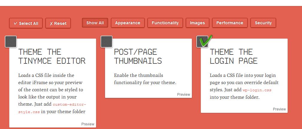 Screenshot of wpfunctions.me website