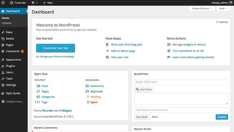 MP6 WordPress Admin Plugin