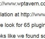 Plugin Checker Results