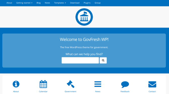 GovFresh WP: A Free WordPress Theme For Governments