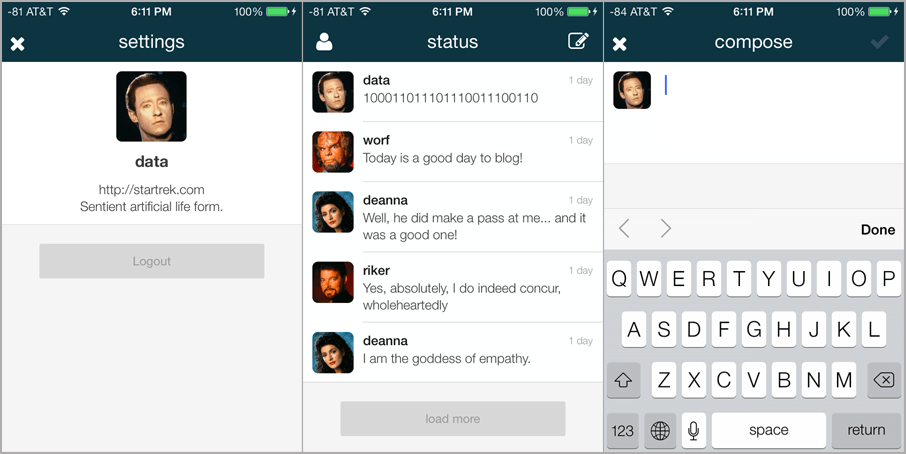 Status App: A WordPress-Powered Mobile Micro Messaging Service