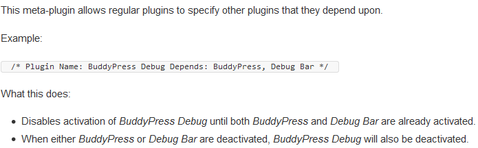 What Plugin Dependencies Does