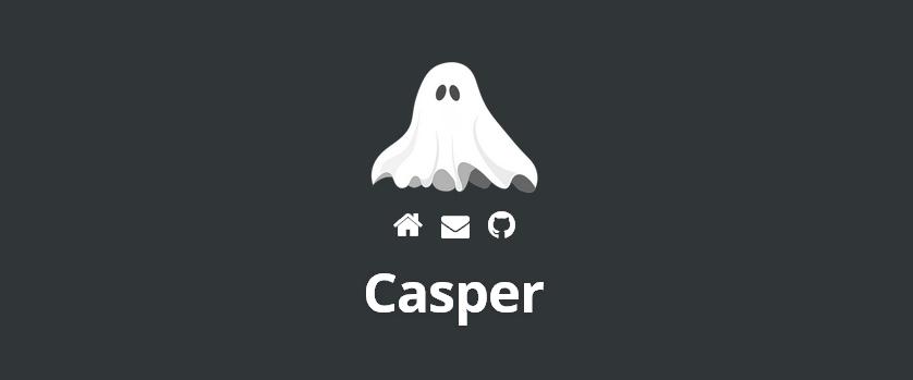 Casper: A Free Ghost-Style WordPress Theme Based on Underscores