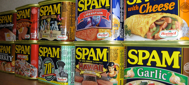 Spam Spam Spam Featured Image