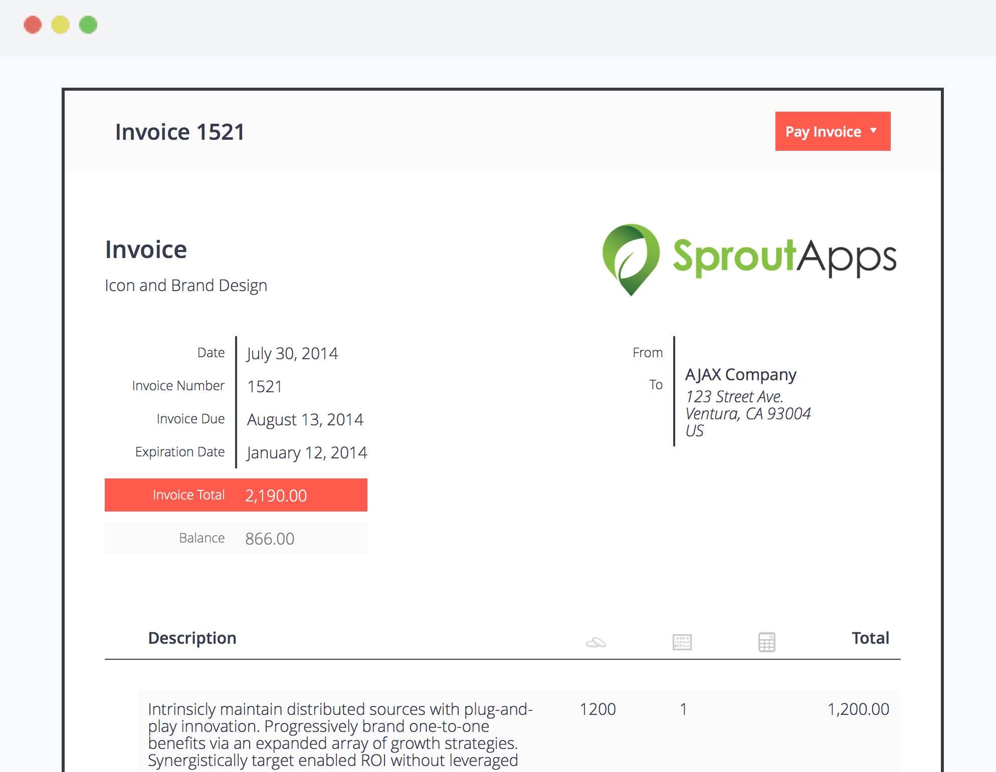 Sprout Invoice