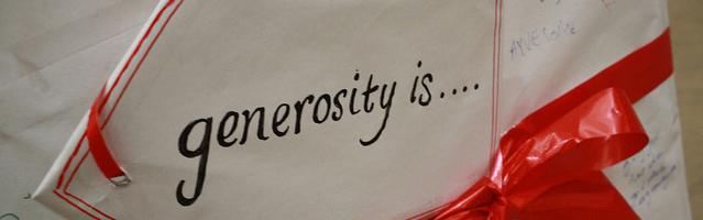 Generosity Featured Image