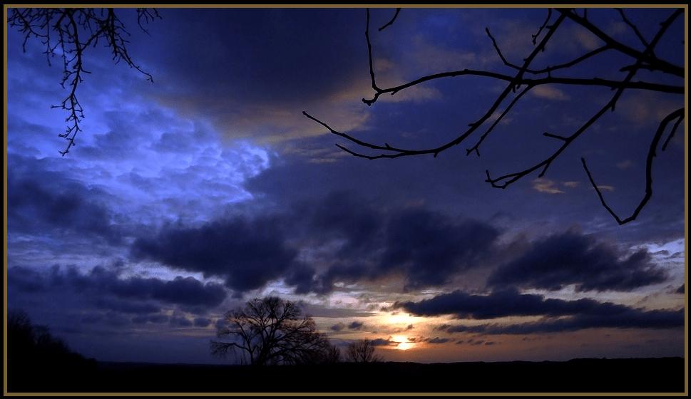 Springtime Sky by Kim Parsell