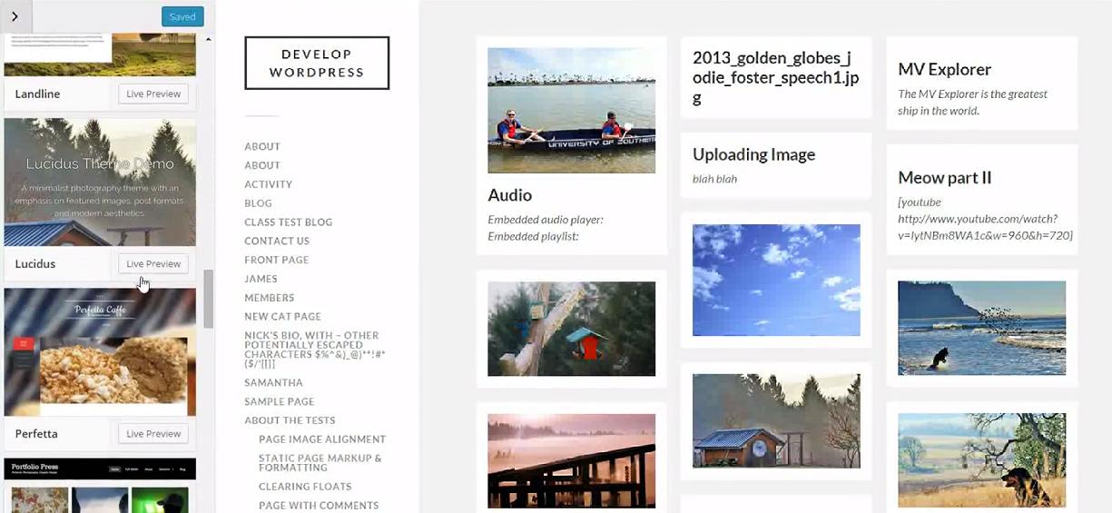 New WordPress Template Released in June 2015