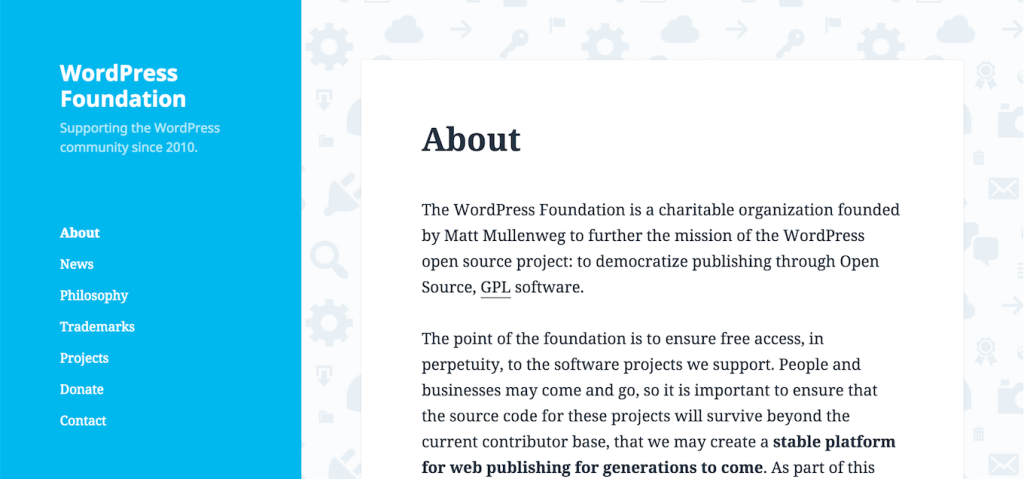 WordPress Foundation Website Gets a Redesign