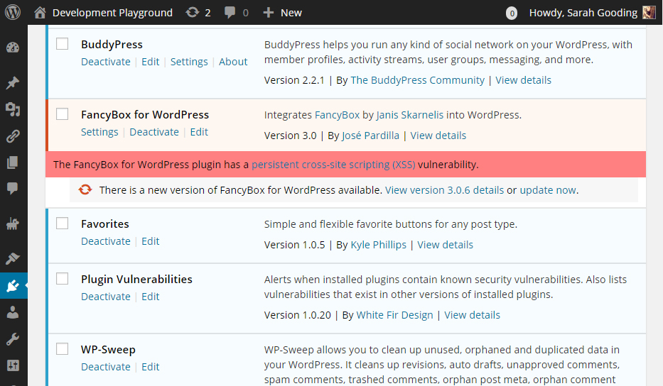 plugin-vulnerabilities