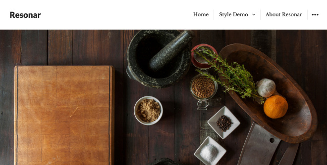 Resonar: A Free WordPress Blog Theme Designed to Showcase Featured Images