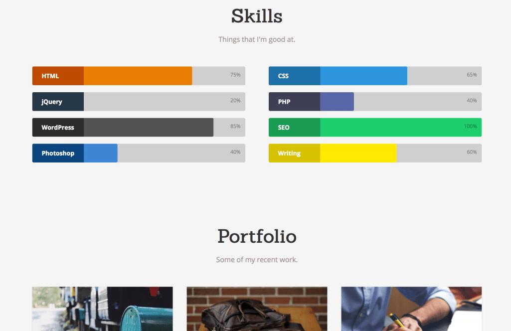 Latte A Free One Page Wordpress Theme To Showcase Your