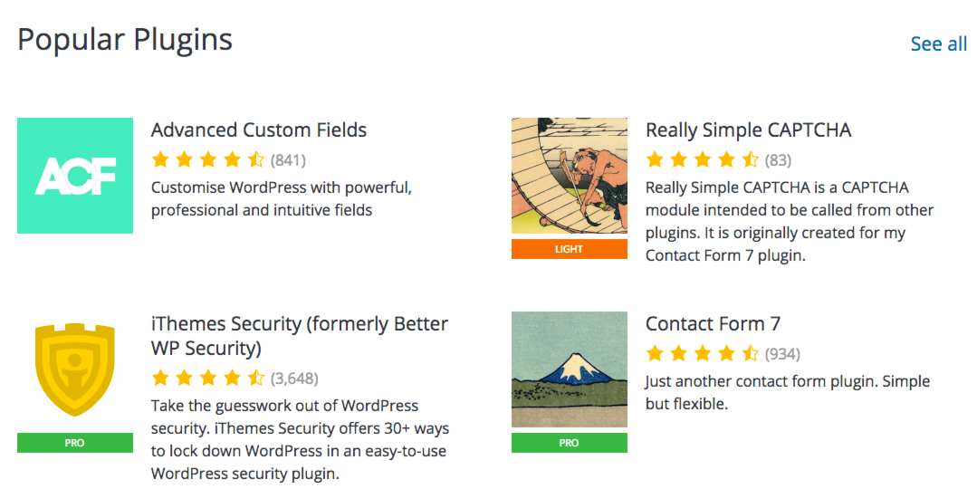 WordPress Meta Team Publishes Prototypes of The Plugin Directory Redesign