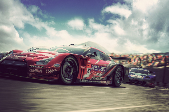 Created in Gran Turismo 5's Photo Mode and enhanced with Adobe Photoshop CS5.