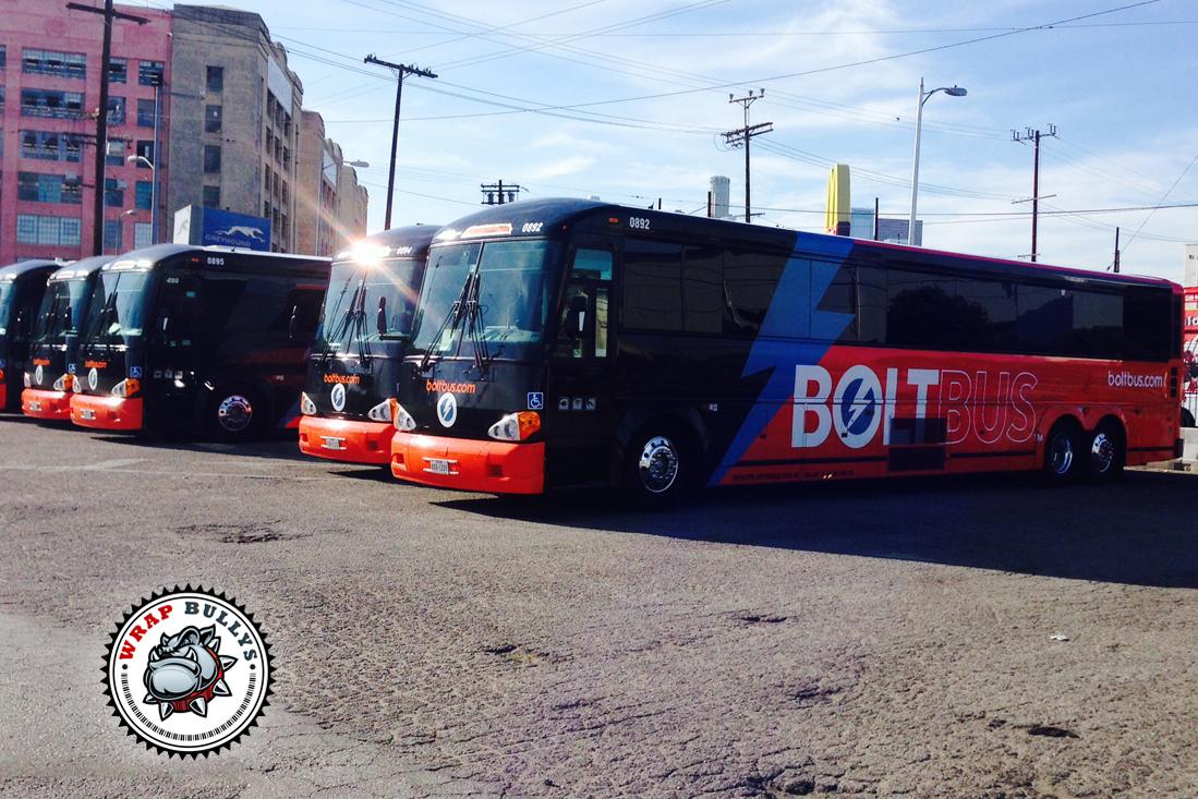 Los Angeles Public Transportation Bus Wraps Wrap Bullys