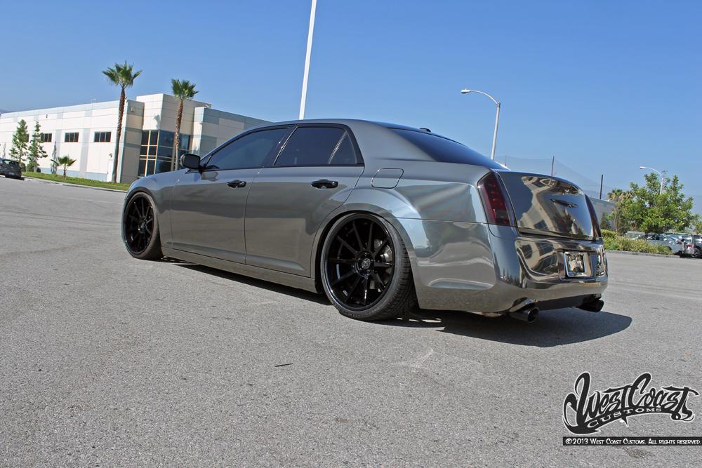 West Coast Customs Black Chrome Wrap 300 Wrapfolio