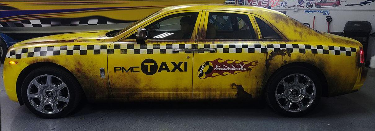 Rolls Royce Crazy Taxi Rust Wrap