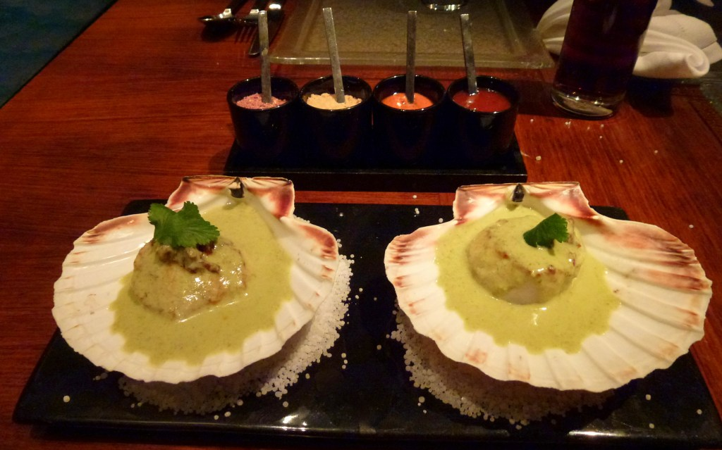King scallop at amaya