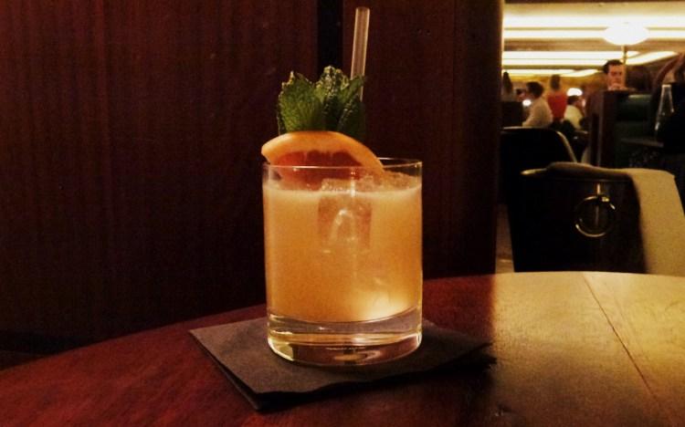 Rum No 2 cocktail at Hawksmoor air street