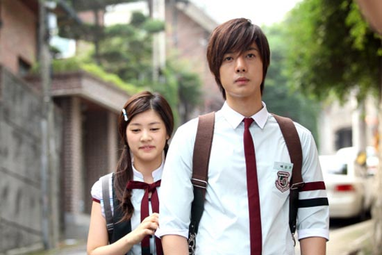 Playful Kiss. I would like you both to die now, please. And bring on the dude who checks if the petrol tank on his motorbike is empty by using his lighter, cos even he isn't as stupid as these two are. Plus, he's funnier.