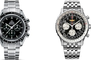Clash of the Chronos - Breitling Navitimer 01 Watch vs Omega Speedmaster Moonwatch